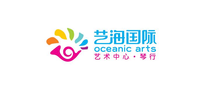 艺海培训logo设计