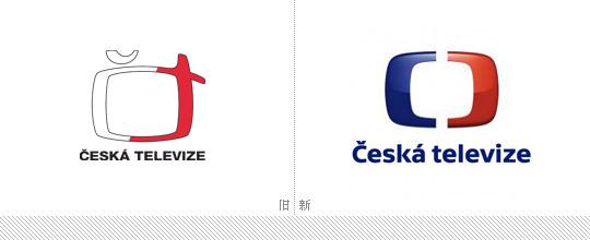 【汽车接插件公司logo设计】捷克电视台(czechtelevision)启用新标志